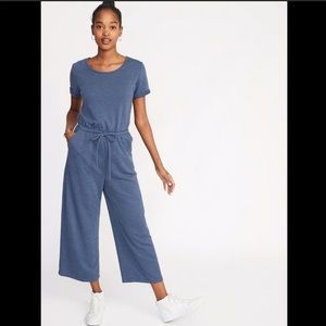 Old Navy | Wide-leg French Terry Jumpsuit